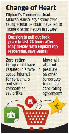 Flipkart pulls out of Airtel's net neutrality violating Airtel Zero