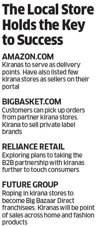 Why retailers like Amazon, Reliance Retail are wooing kirana stores