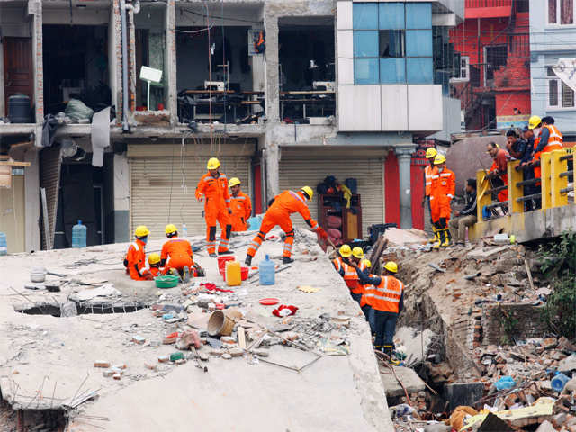 Four big steps in India's Nepal earthquake rescue effort