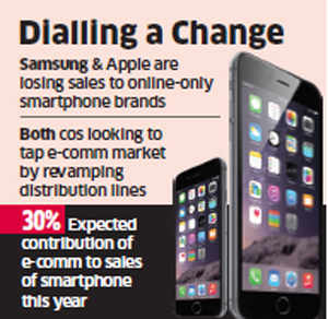 Apple and Samsung revamp distribution models to bring about price parity offline and online
