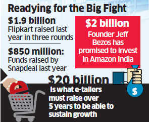 Flipkart stocking up on $550 million in fresh funds at $16 billion valuation