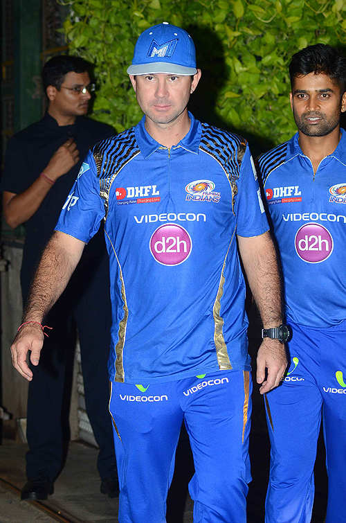 Star-studded victory party for Mumbai Indians