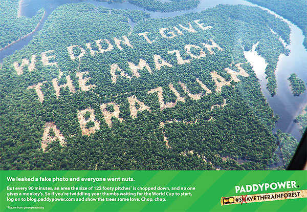 World Environment Day: WWF, Paddy Power & Chipotle are some green ads that left an impression