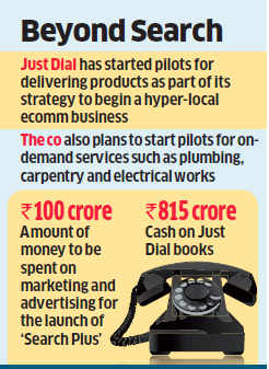 Just Dial shelves plans to raise Rs 1,000 crore, will buy back shares instead