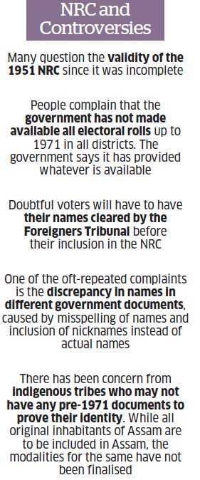 National Register of Citizens in Assam: Issue of illegal