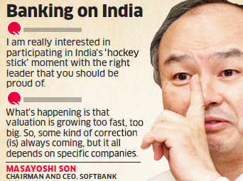 India, China to fight for top two positions this century: Masayoshi Son, SoftBank Group