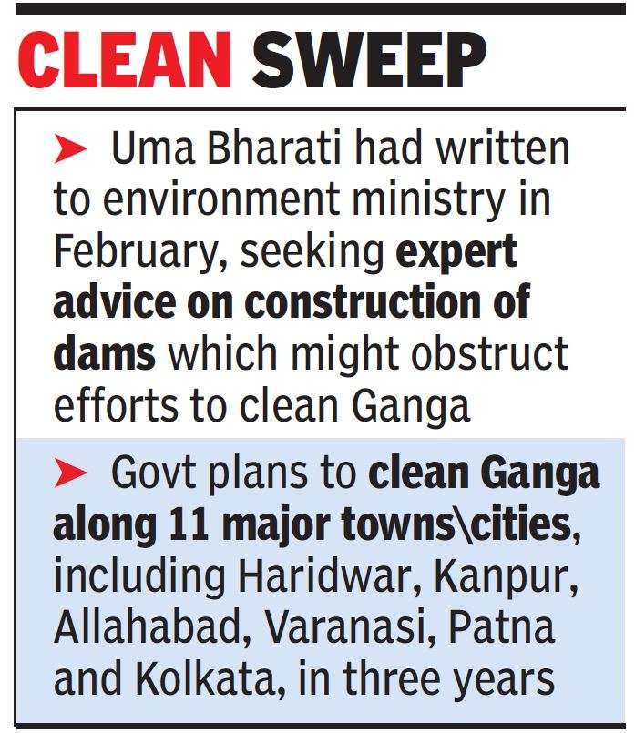 No sanction to any new dam on Ganga if it impedes uninterrupted flow of water: Ministry