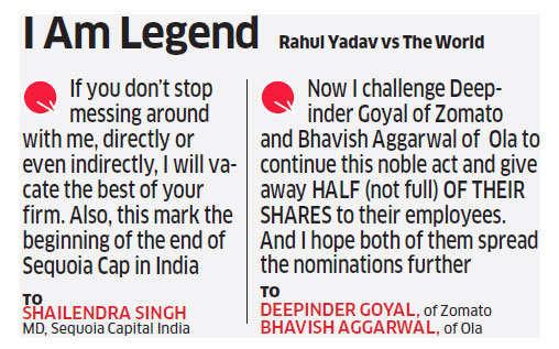 Had Rahul Yadav lost interest in Housing.com?