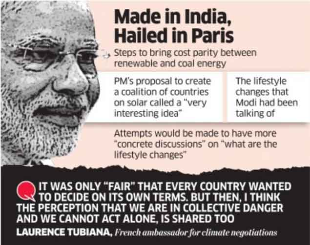India's green steps turn talking point