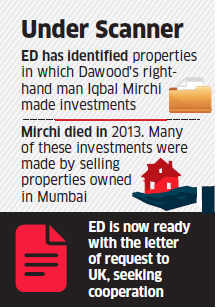 Enforcement Directorate  to reach out to UK for information on Dawood Ibrahim's realty investments