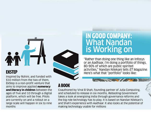 Nandan & Rohini Nilekani's 'world of good': How they are working on community-minded projects like EkStep