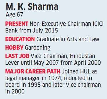 I have decided that to accept my limitations and play up to my strengths: New ICICI Bank Chairman MK Sharma