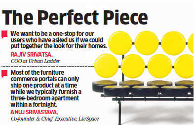 Furniture e-tailers like Urban Ladder, FabFurnish gear up to offer complete home design solutions