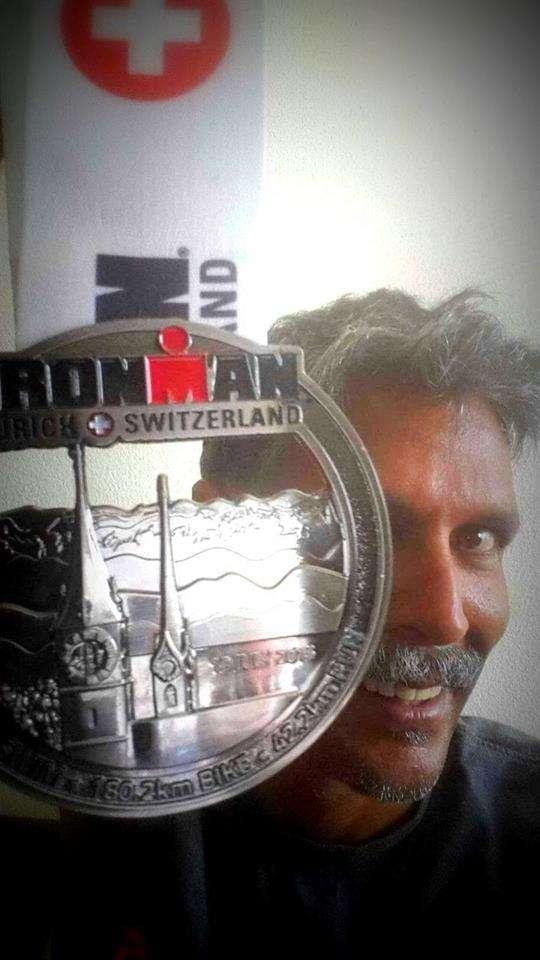 At 50, model & actor Milind Soman turns Ironman