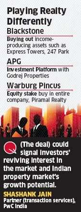 Warburg Pincus to invest Rs 1,800 crore in Piramal Realty