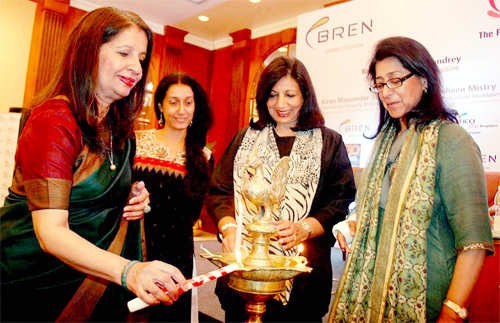 Naina Lal Kidwai launches book on India's 30 women leaders