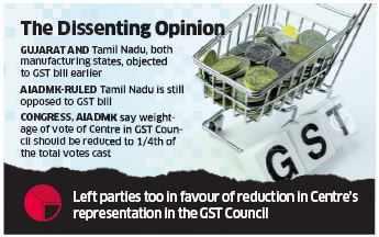 Rajya Sabha panel tables GST Bill, government hopeful of passage