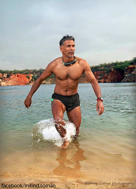 Wanted to do something memorable for my 50th birthday: Milind Soman on Ironman