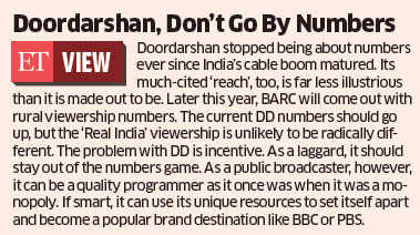 Doordarshan viewership poor despite hike in budget, expert hiring