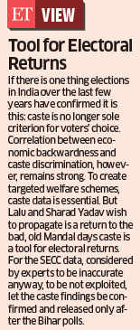 "Lalu Prasad Yadav fasts for caste census data release, calls Narendra Modi ""Kaliya Naag"""