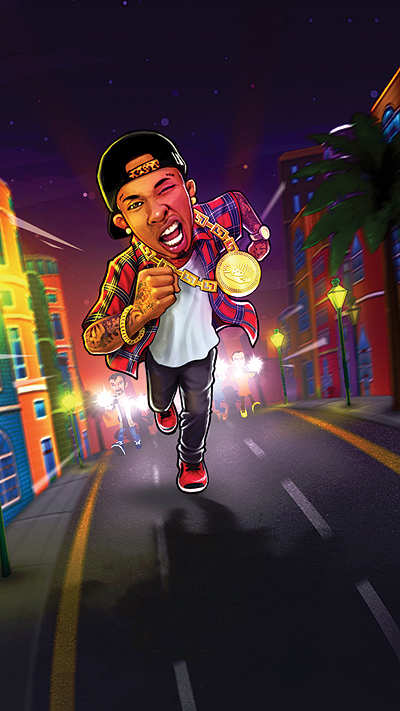 Games2Win builds a mobile game for US rapper Tyga