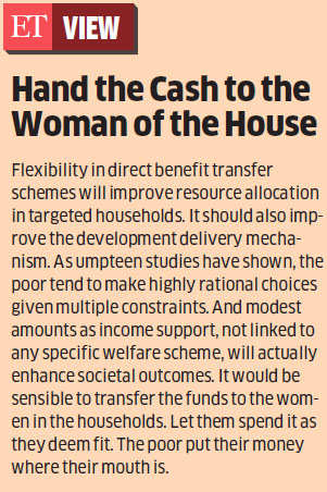 Government planning to deduct part of subsidies and hand it over to beneficiaries to boost demand