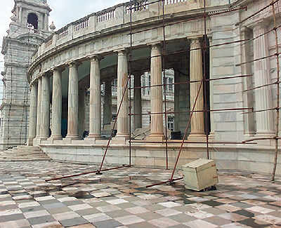 Building a false ceiling for air-conditioning risks severe damage to Kolkata's Victoria Memorial