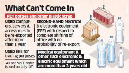 Recyclers told to use local waste as government quietly slaps ban on import of electronic, PET scrap