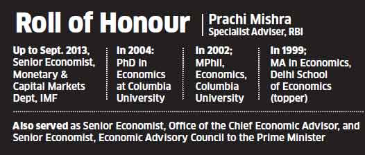 RBI's Prachi Mishra: The woman who crunches inflation data