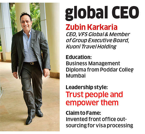 How Kuoni India's Zubin Karkaria turned a small Indian operation into a global money-spinner