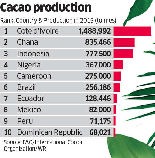 How making chocolate is adding up to deforestation, emissions & climate change