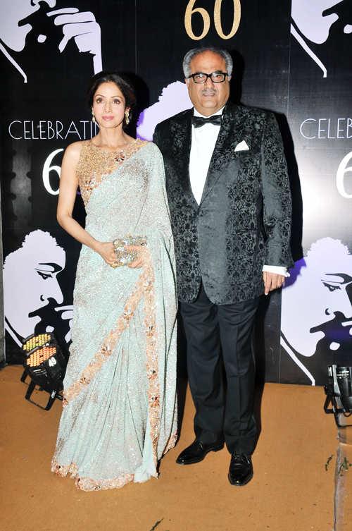 Salman, Sridevi, Kamal Haasan attend Chiranjeevi's birthday bash