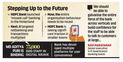 Digital evangelism powers all-India change at HDFC Bank