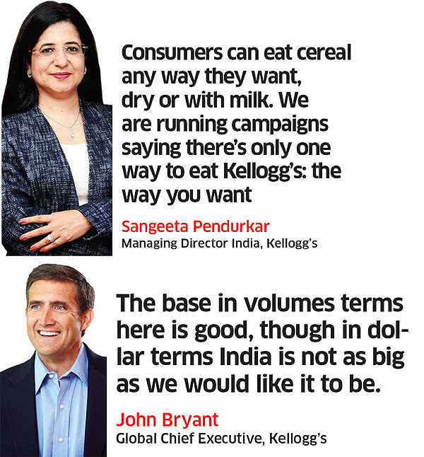 Kellogg's bets on its cereal heritage to evolve into a holistic snacking brand
