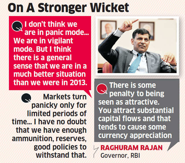 Market mayhem a temporary phenomenon, macroeconomic fundamentals better now: Raghuram Rajan