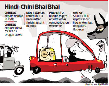 Why India remains a difficult terrain for 7,000 Chinese