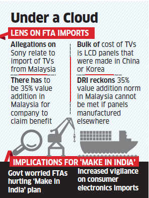 Sony India may have to cough up Rs 300 crore for Asean free trade agreement violation