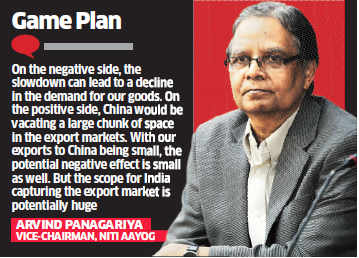 China loss is India's gain; state governments could take the lead, says Arvind Panagariya