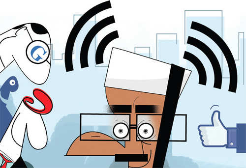 Google, Facebook, Cisco and others line up to fulfill Arvind Kejriwal's free Wi-Fi dream