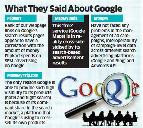 CCI charges Google with rigging search results; Flipkart, Facebook corroborate complaints