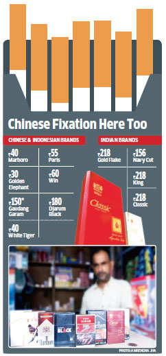How increased excise duty on cigarettes has made the Indian market vulnerable to Chinese brands