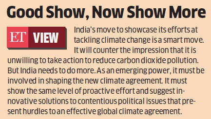 India launching campaign to publicise measures to fight climate change