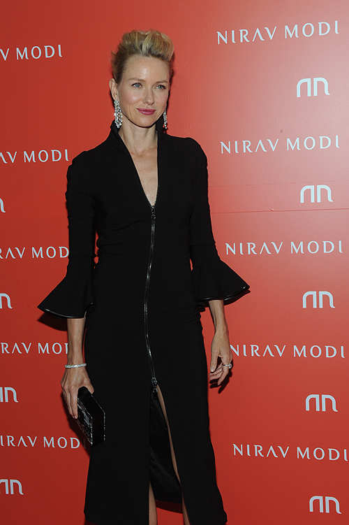 Naomi Watts, Trumps at Nirav Modi's store-launch in NYC