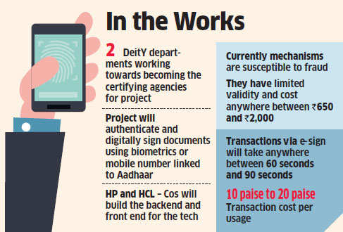 Government hopes to keep digital frauds at bay with e-Signature