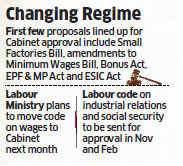 Labour Ministry assures updated laws in six months