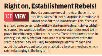 Big family businesses like Reliance, Birla showing more interest in startups in the digital space