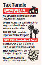 Service tax or VAT? Lack of clarity over spectrum trading bothering telecom companies