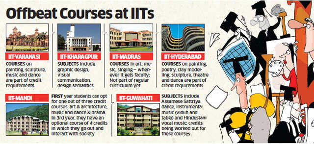 IITs help engineering students beat stress with offbeat subjects
