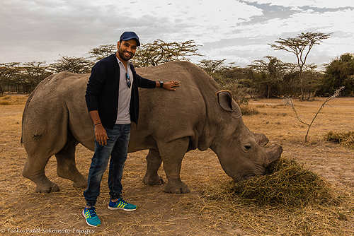 Rohit Sharma joins anti-poaching campaign in Kenya