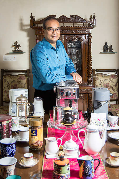 WNS Global Services' Keshav Murugesh is a unique coffee connoisseur